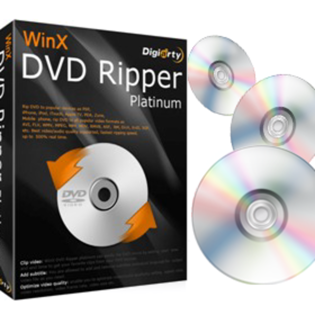 WinX DVD Ripper Platinum V8. 20.3 Crack Licences Code 2021
