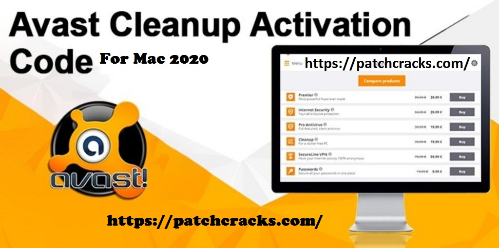 Avast Cleanup Mac 19 Crack Activation Code + License Key Download