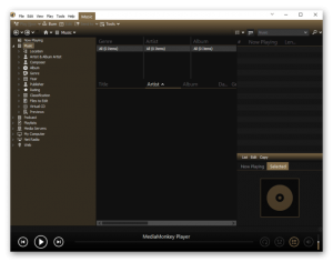 MediaMonkey Collections will allow large media libraries to be fragmented, configured, and managed independently. For example, classical music, jazz