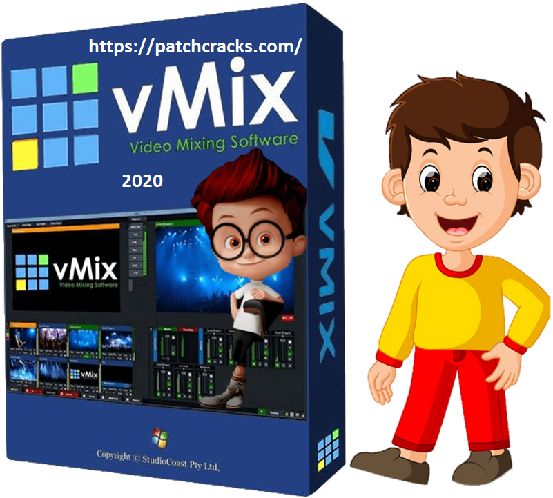 vMix 23 Crack Serial With Registration Key +Torrent Win & Mac 2020