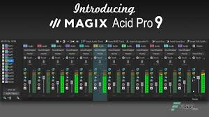 MAGIX ACID Pro Crack 9.64-bit Crack With Serial Key Free Here!2020