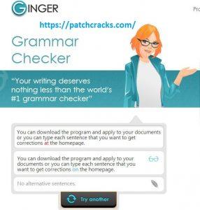 Ginger Grammar Checker 2020 Crack Serial Keygen Free Download
