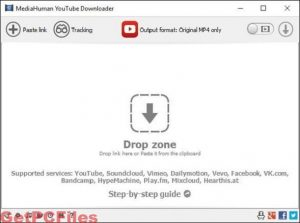 MediaHuman YouTube Downloader 3.9.9.36 Crack License Key [Win/Mac]