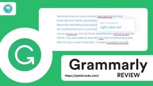 Grammarly 1.5.58 Crack Keygen Plus Serial Patch Full Free Download