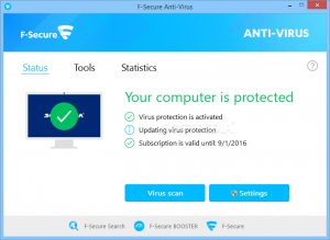 F-Secure Antivirus Crack 2020 With Key Free Download [Latest]