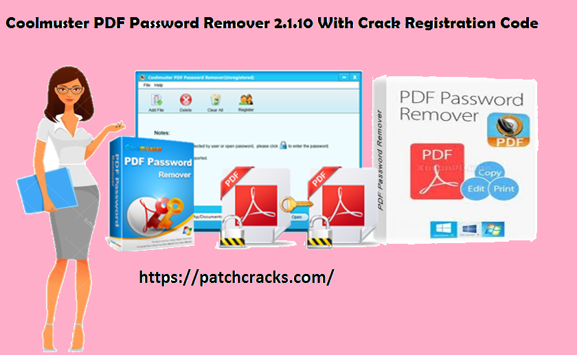 Coolmuster PDF Password Remover 2.1.10 With Crack Registration Code