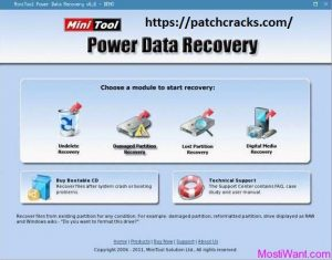 MiniTool Power Data Recovery 8.8 Crack Free Download