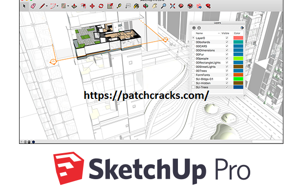 Sketchup Pro v20.1.235 With License Key Free Download