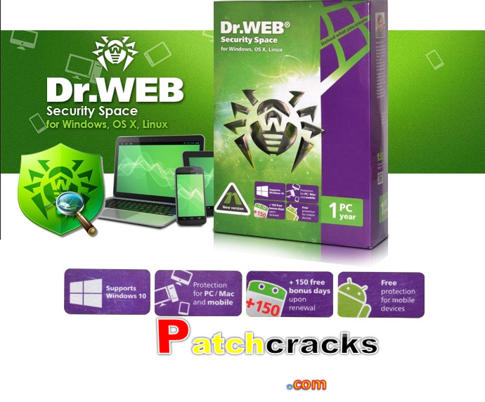 Dr.Web Mobile Security 12 With Crack Product Key Download 2021