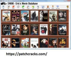 EMDB 3.62 With Crack + Serial Key Full Free Download
