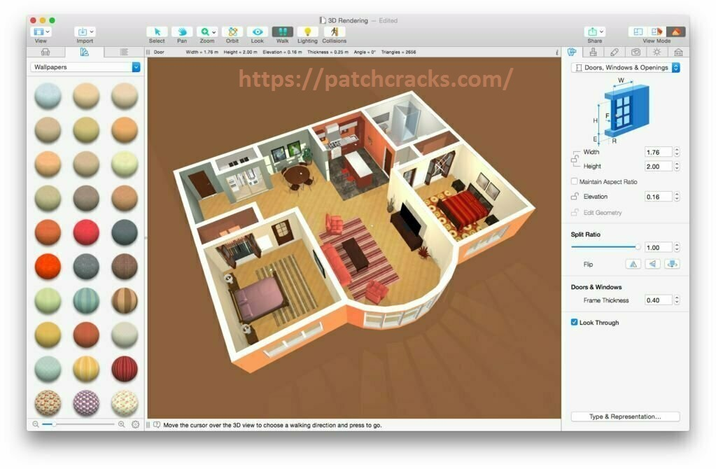Live Home 3D Pro 3.8.1 With Crack Free Download macOS