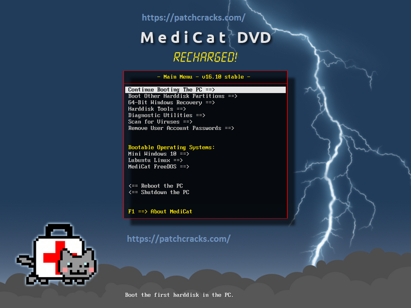 MediCat USB v20.05.1 With Crack Free Download