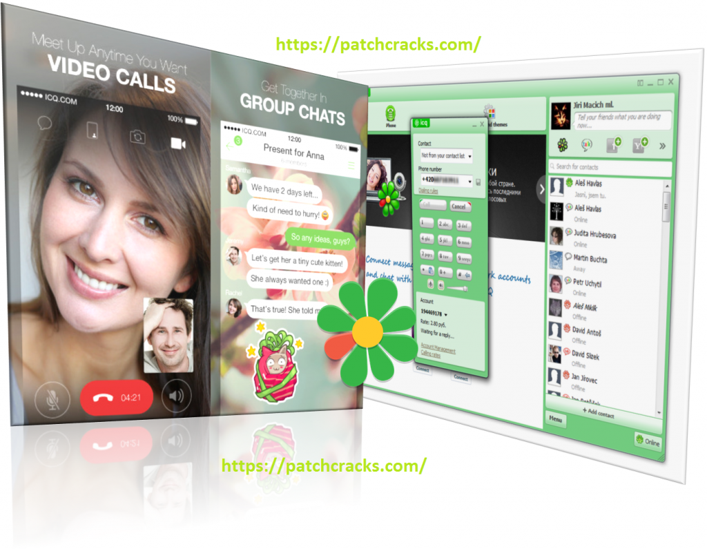 ICQ 10.0 Build 41010 Messenger Free Download For PC