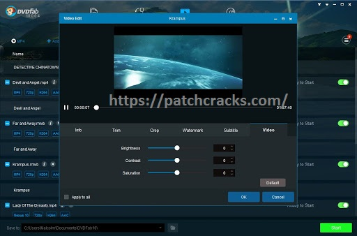 DVDFab HD Decrypter 11.9.7 Crack + Keygen Download