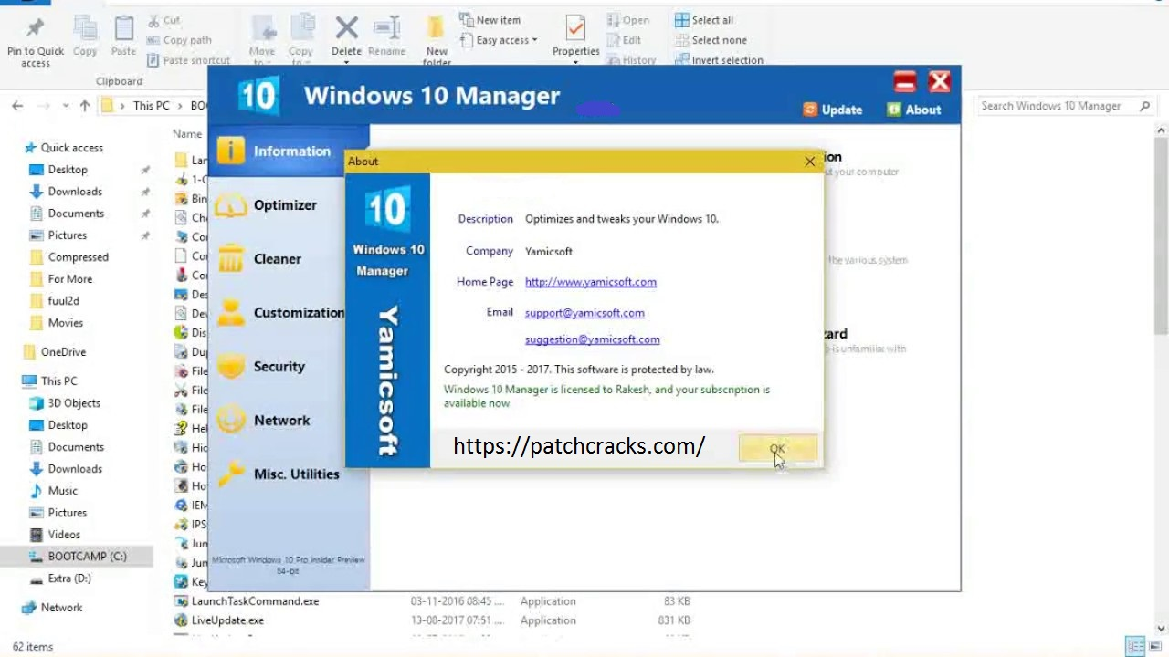 Yamicsoft Windows 10 Manager 3.3.0 With Crack Download