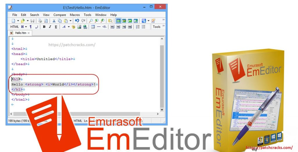 EmEditor Professional 20.0.3 Crack Lifetime Serial Key 2020