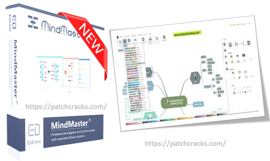 Edraw MindMaster Pro 8.0.3 With Crack Free Download[Latest]