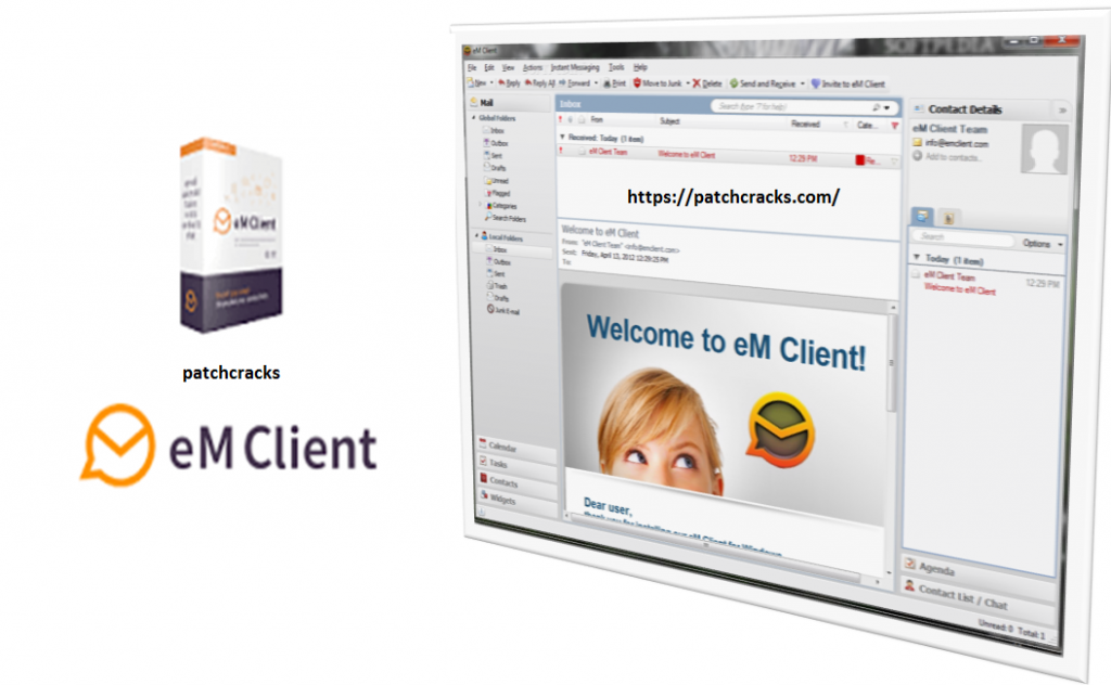 eM Client Pro 8.0.3283.0 Serial Key & Patch Free Download
