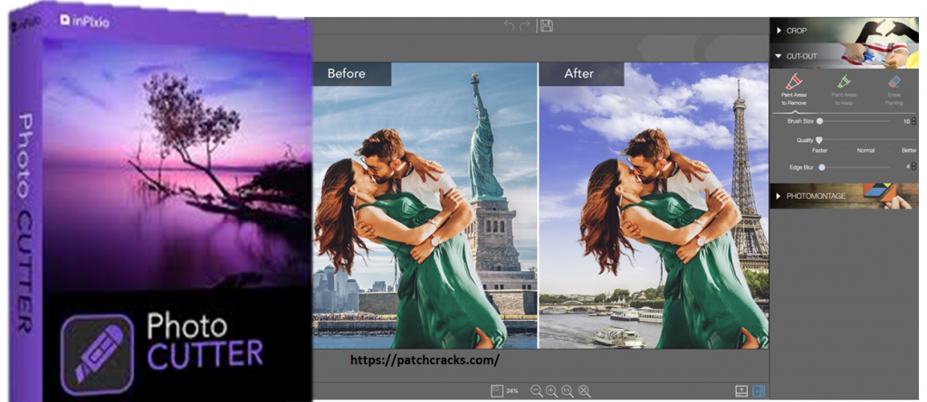 InPixio Photo Cutter 10.4.7542.30651+ Crack Free Download