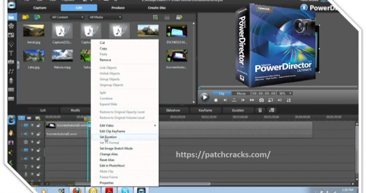 CyberLink PowerDirector Ultimate 19.0.2108.0 Crack With Key Download