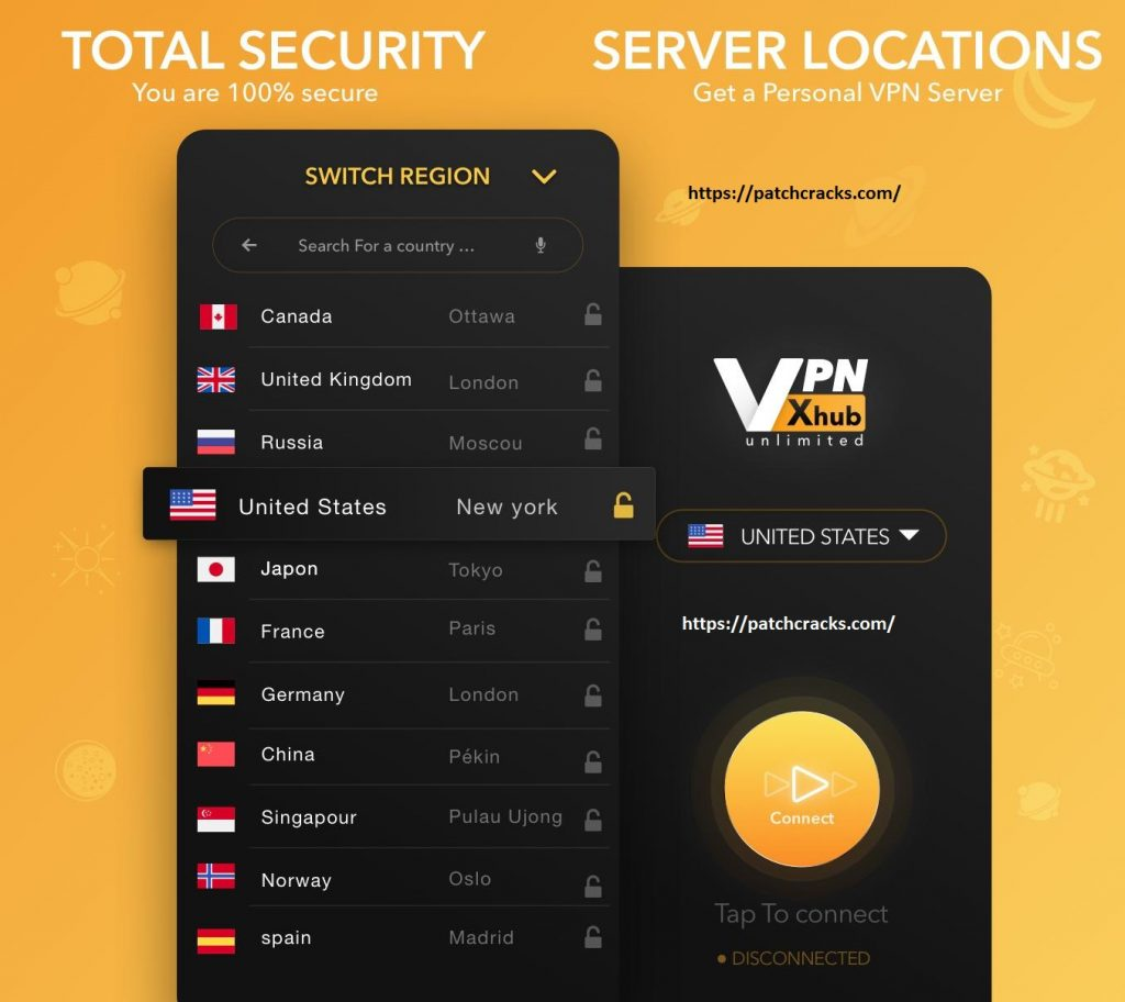 VPNhub Best Free Unlimited VPN – Secure WiFi Proxy v2.16.1 Crack