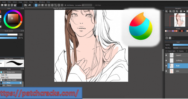 MediBang Paint Pro 25.5 With Full Crack Download 2021