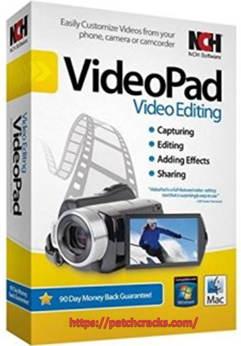 VideoPad Masters Edition 8.91 For Window Download 2021