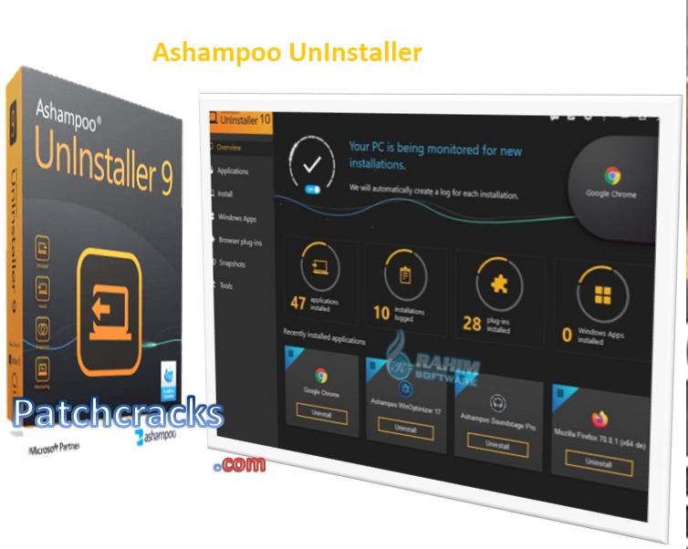 Ashampoo UnInstaller 10.00.10 + Crack License Key 2021