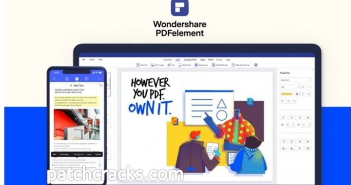 Wondershare PDFelement Pro 8.0.2.186 Crack Free Download 2021